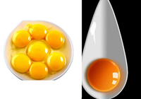 Do you know where the color of the egg yolk comes from?