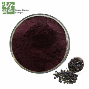 whosale Antioxidant Natural Colorant 25% Anthocyanin Black Goji Berry Extract Powder