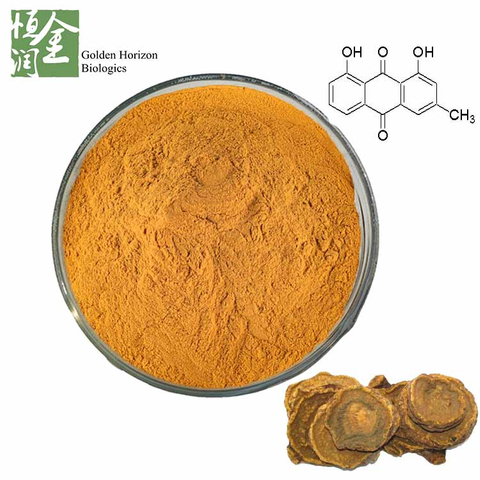High Quality Natural Chinese Rhubarb Root Extract