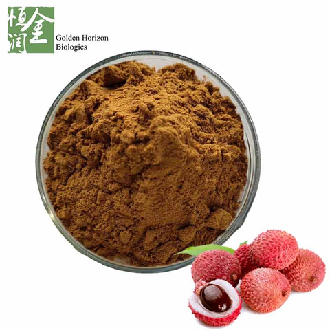 High Qulity Fruit Extract Lychee Extract Powder 40% 50% 70% Polyphenol